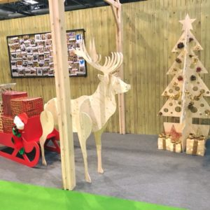 CNC Wooden Christmas Displays